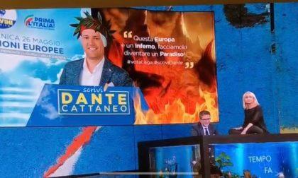 """Littizzetto ironizza su Dante Cattaneo, che replica: """"Niente lezioni da milionari radical chic"""""""