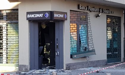 Assalto al bancomat a Pero: rapinatori in fuga FOTO