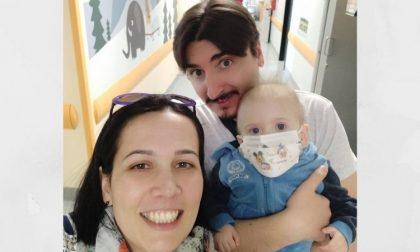 Il piccolo Gabry cerca un donatore di midollo per continuare a vivere