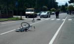 Investito ciclista a Villa Cortese: è grave FOTO