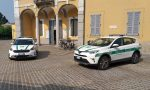 Due auto ibride per i vigili bareggesi