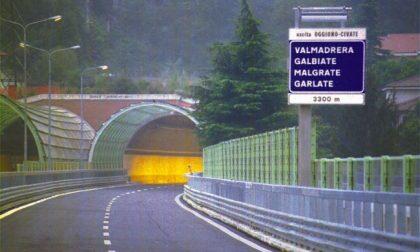 Cadono calcinacci: chiusa la galleria a Galbiate