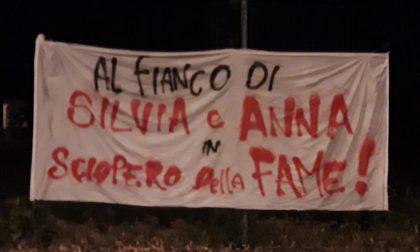 Telos in piazza al fianco di Silvia e Anna, in sciopero della fame in carcere