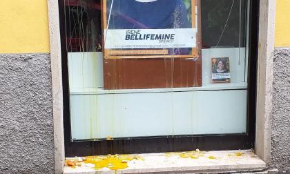 """Uova contro la sede del Pd a Malnate, Gulino: """"Se le sono lanciate da soli"""""""