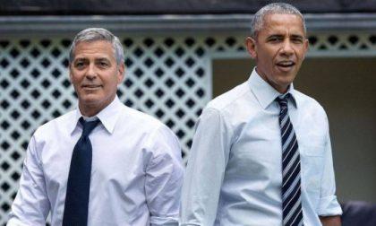 E' il giorno degli Obama: ospiti di George Clooney sul Lago di Como
