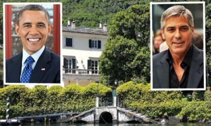 Gli Obama arrivano a Laglio da George Clooney