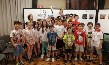 I giovani campioni di scacchi di Busto Garolfo