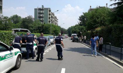 Paura a Settimo Milanese per un ciclista investito