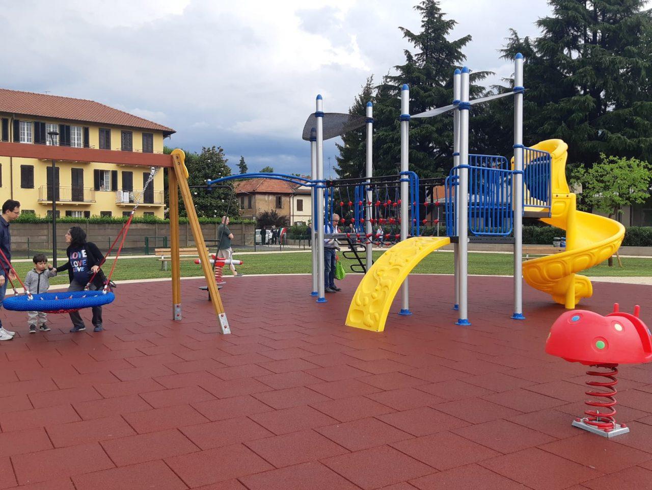 inaugurato parco via vittorio emanuele III cantalupo