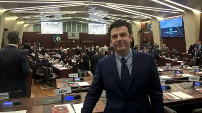 """Simone Giudici: """"Milano diventi la sede centrale del tribunale dei brevetti"""" VIDEO"""