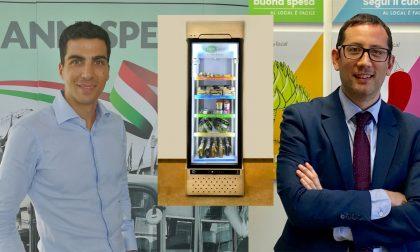 Non un semplice distributore automatico, ma un frigo intelligente