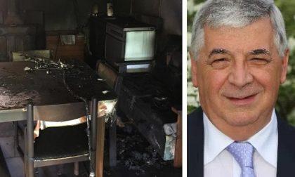 Motta, incendio doloso contro il sindaco De Giuli