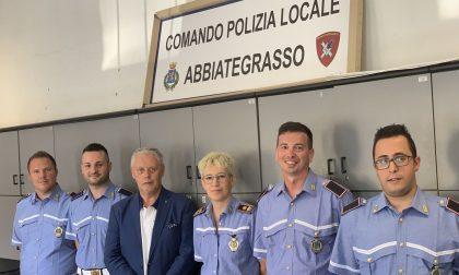 Nuovi agenti in servizio alla Polizia locale di Abbiategrasso