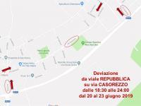 parabiago, chiusura temporanea di viale Repubblica