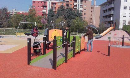 Parco per tutti, inaugurazione della nuova area giochi inclusiva
