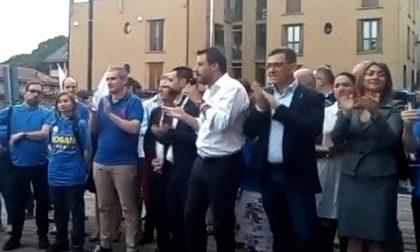 Salvini a Paderno per sostenere Bogani