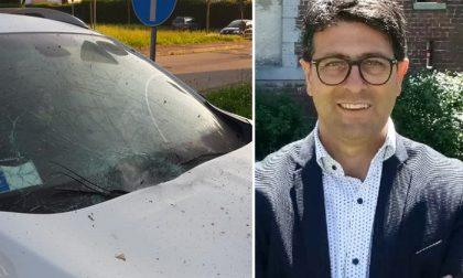Vermezzo con Zelo, ordigno contro l'auto del sindaco Cipullo FOTO