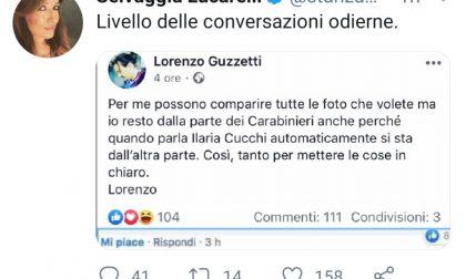 Carabiniere ucciso: Selvaggia Lucarelli contro l'ex sindaco Guzzetti