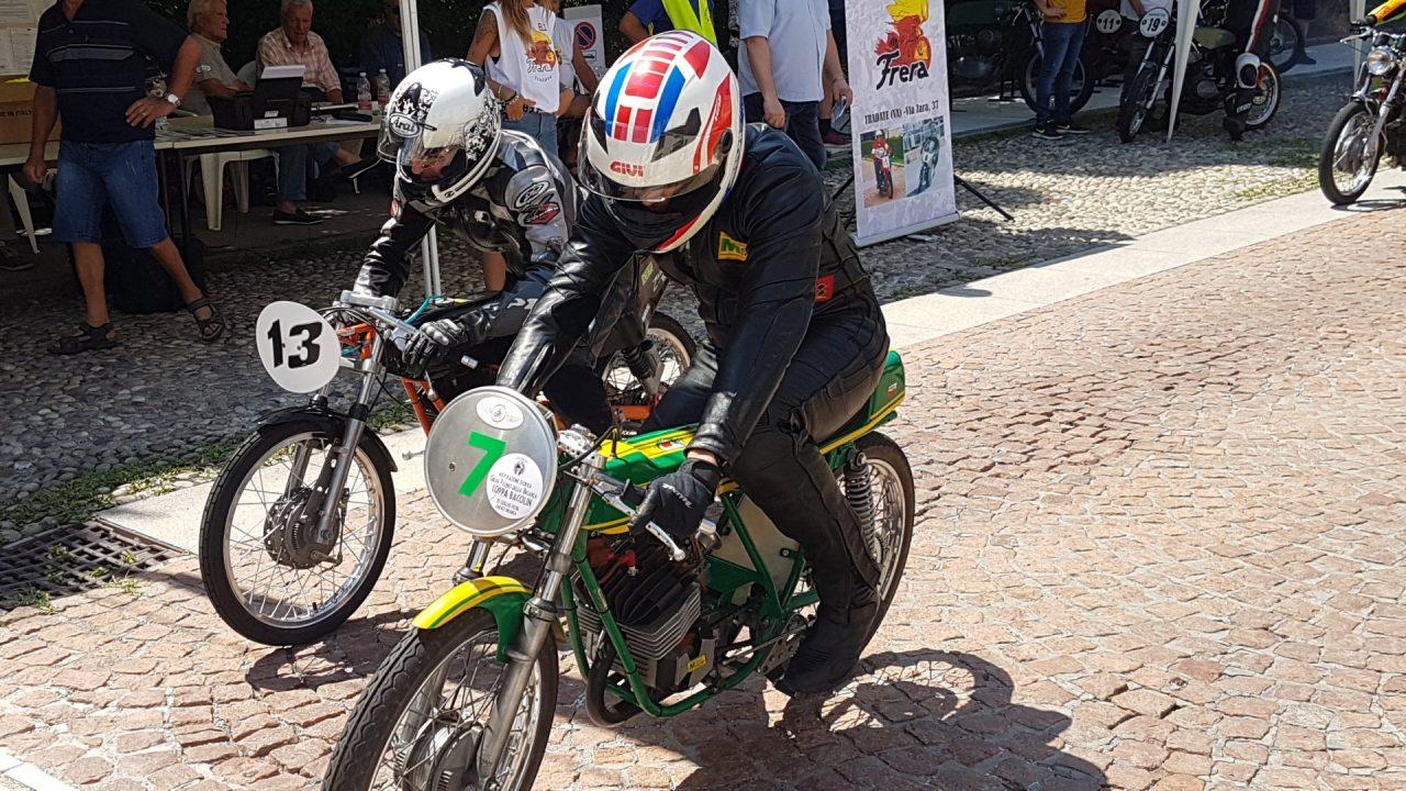 moto storiche riewvocazione circuito Città di Tradate