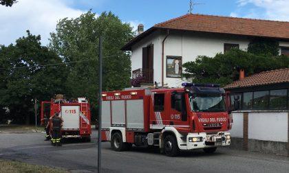 Incendio nella cucina  del Ristorante Lucrezia di Castellazzo