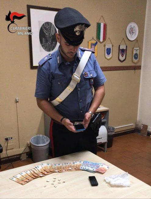 Parabiago, carabinieri arrestano 19enne per spaccio