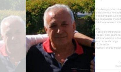 """""""Mio papà è scomparso"""", l'appello per ritrovare Giuseppe"""