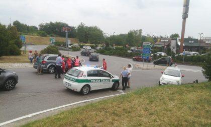 Incidente con testacoda a Cerro, una donna ferita