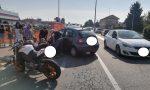 Motociclista grave dopo lo scontro sulla Sp11