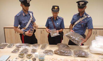Droga nel telaio della vasca: arrestato 23enne