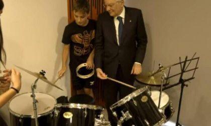 Il presidente Mattarella inaugura gli strumenti magentini