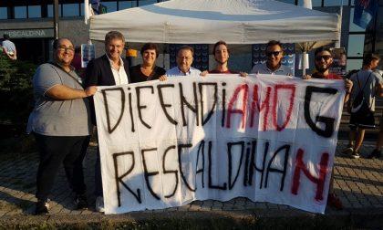 """De Corato a Rescaldina: """"Nuova proposta di presidio dei convogli e delle stazioni"""" FOTO"""