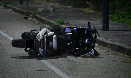 Incidente in moto: 28enne fa un volo di quasi 200 metri. E' grave