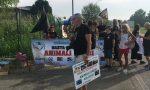 Protesta animalista a Robecco per la Festa del Sacrificio FOTO e VIDEO