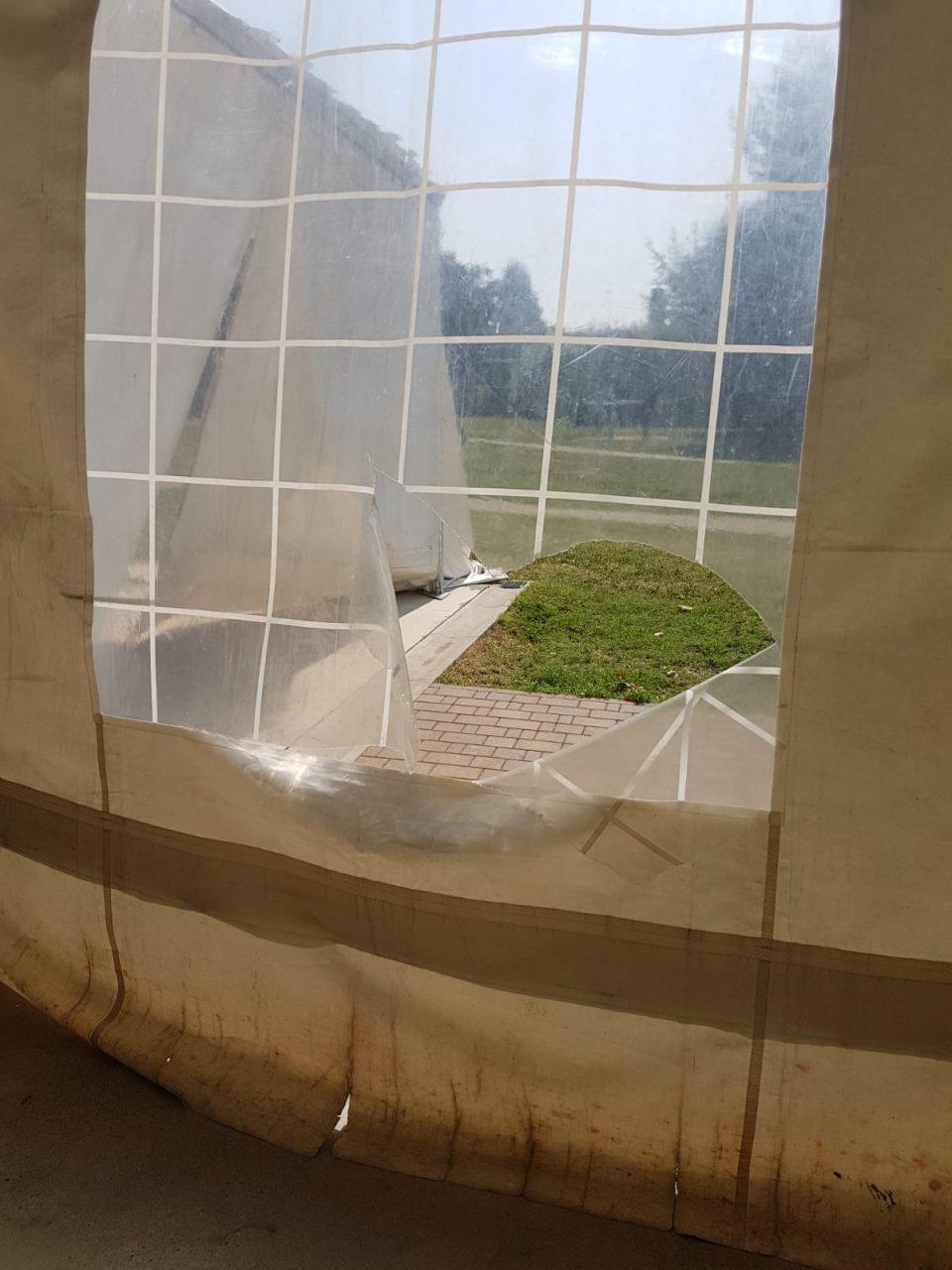 ancora vandali al pratone di venegono