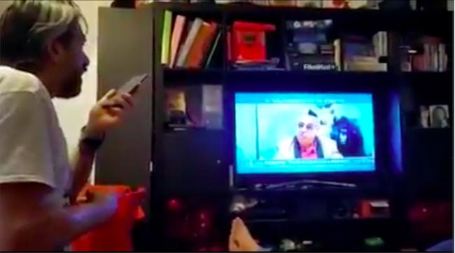 """Virale il VIDEO della chiamata del Legnanese alla trasmissione tv """"Qui Studio a Voi Stadio"""""""