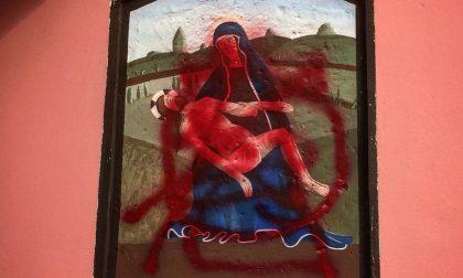 Ceriano, vandalizzato dipinto sacro: la reazione del vicesindaco