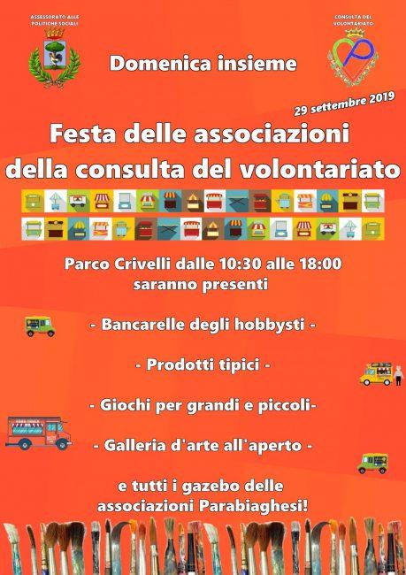 Parabiago, Festa Consulta del Volontariato