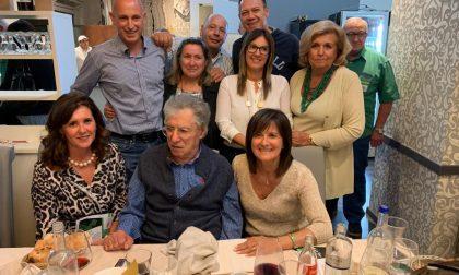 Umberto Bossi festeggia il compleanno a Biassono
