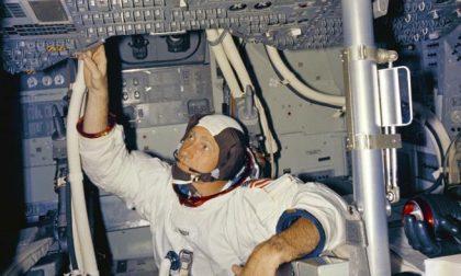 Dalla Luna a Tradate: ospite al Grassi Alfred Worden, astronauta dell'Apollo 15