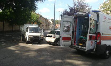 Incidente a Castellanza: 55enne in ospedale FOTO
