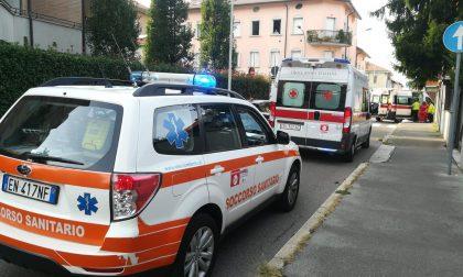 Investite due persone in via Flora a Legnano FOTO