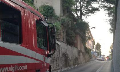 Fuga di gas in zona Ospedale Mater Domini a Castellanza