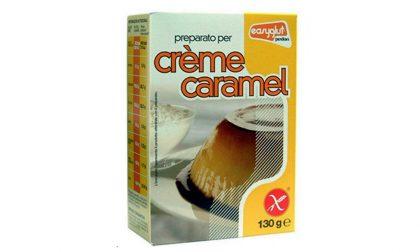 Allergeni non dichiarati, ritirato il preparato per crème caramel