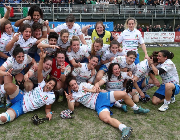 Rugby Sei Nazioni Calendario.Sei Nazioni Femminile L Italdonne A Legnano Grazie Al Rugby