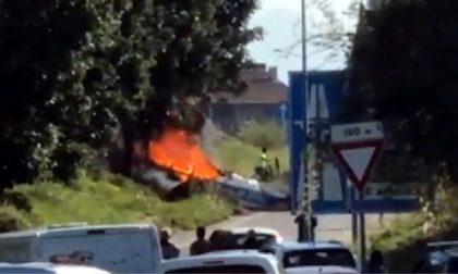 Ultraleggero precipitato a Bergamo: morto anche il pilota 51enne