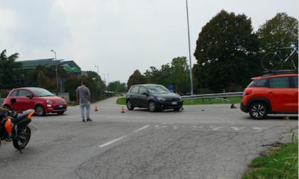 Magenta, incidente sulla circonvallazione FOTO