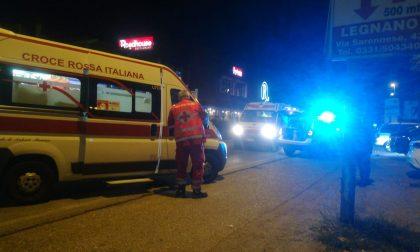 Incidente sulla Saronnese: 22enne in gravi condizioni FOTO
