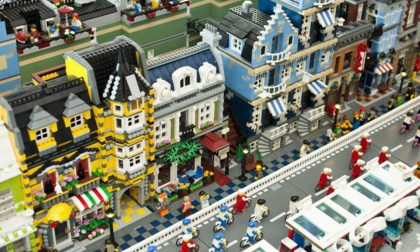 Inaugurata a Monza la più grande città fatta di mattoncini Lego