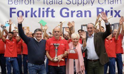 Belron Forklift Grand Prix, l'origgese Paparatti è il miglior carrellista dell'anno