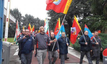 Cnh Inudstrial di Pregnana Milanese in sciopero per due ore FOTO